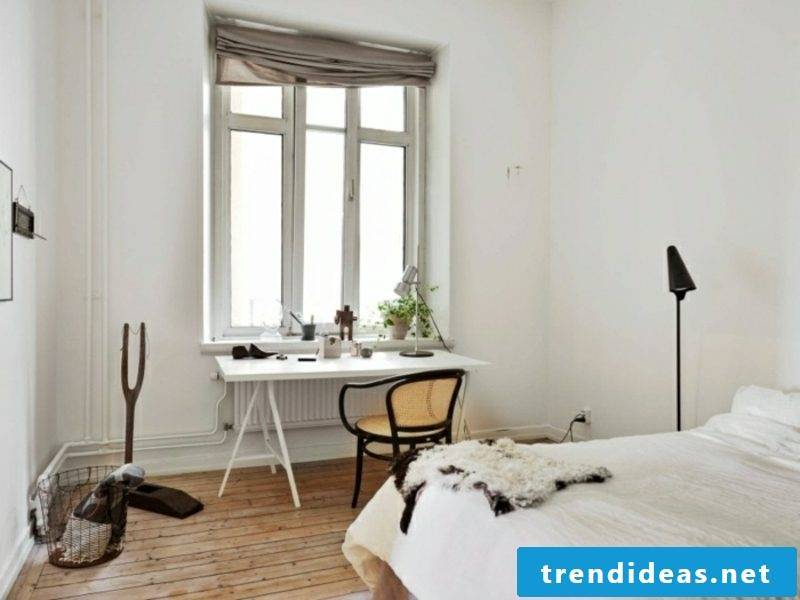 Scandinavian furniture bedroom neutral color scheme