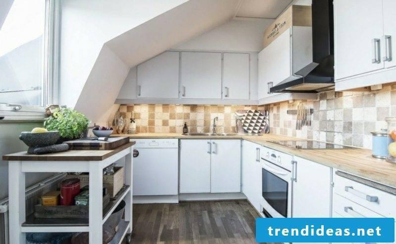 scandinavian live dark parquet kitchen island