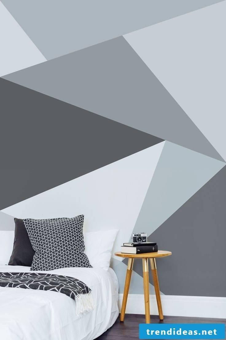 Geometric shapes in Scandinavian style