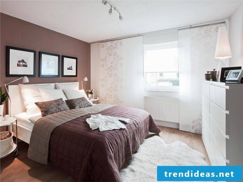interior design Bedroom design according to Feng Shui
