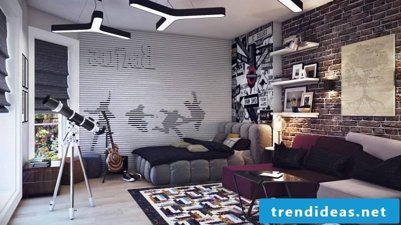 Youth room set up modern design