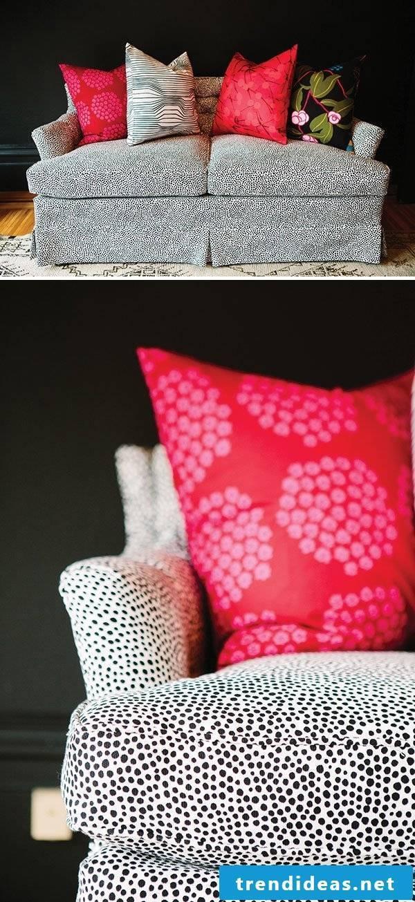 Make the sofa bed itself
