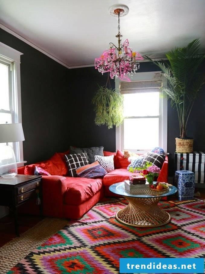 Hussensofa boho style furnishings