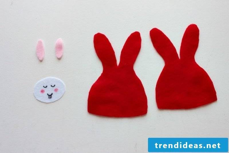 Egg Warmer Sew Bunny Step 1