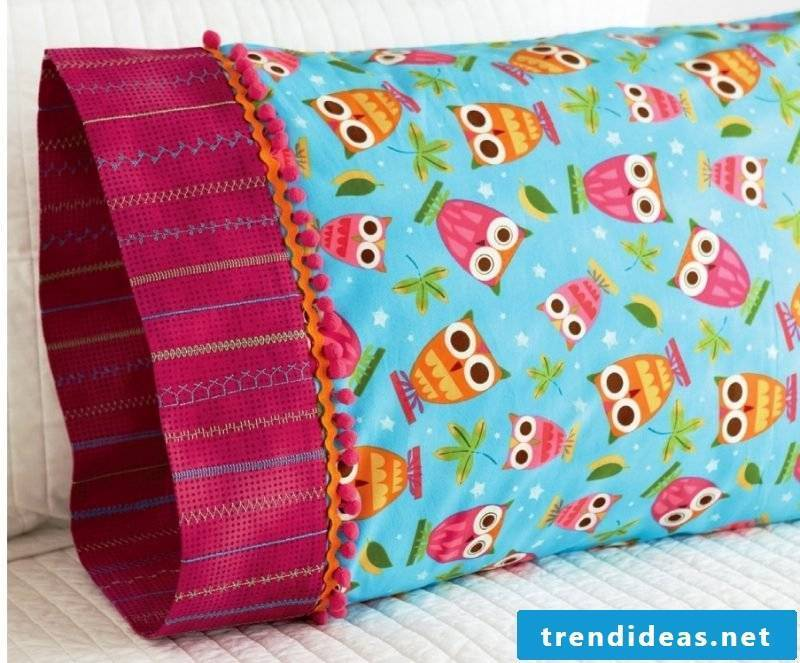 Sew pillowcase!
