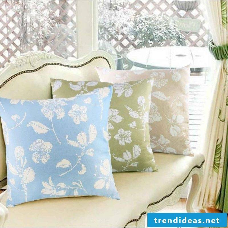 Decorative ideas for DIY pillowcases! Cushion cover sew as a stylish decoration!