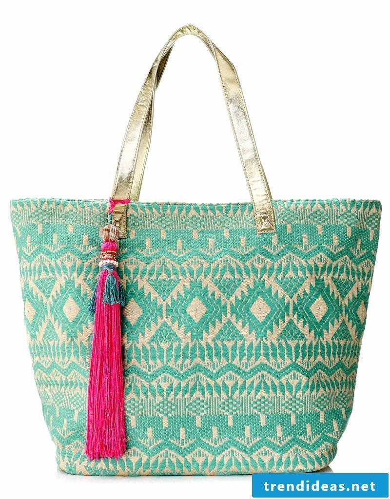 Beach bag sew gorgeous design original look