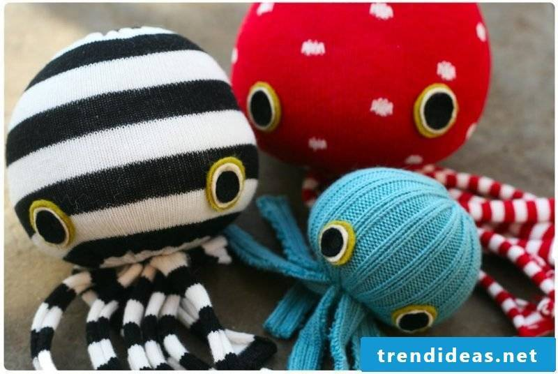 Sew Sock cuddly toy yourself