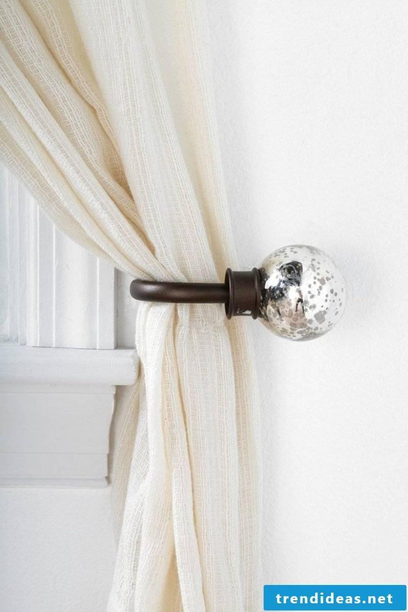 modern curtain holder