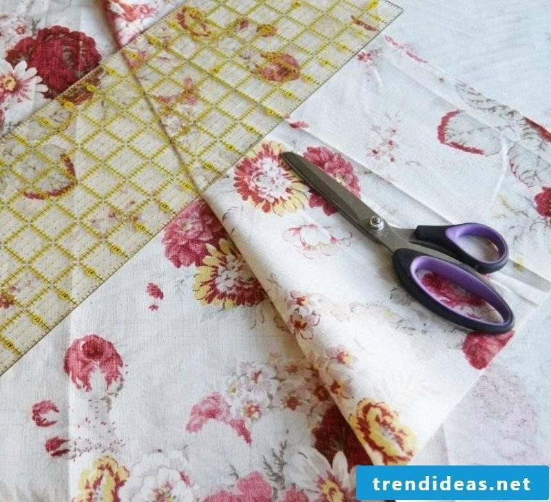 Sew curtains