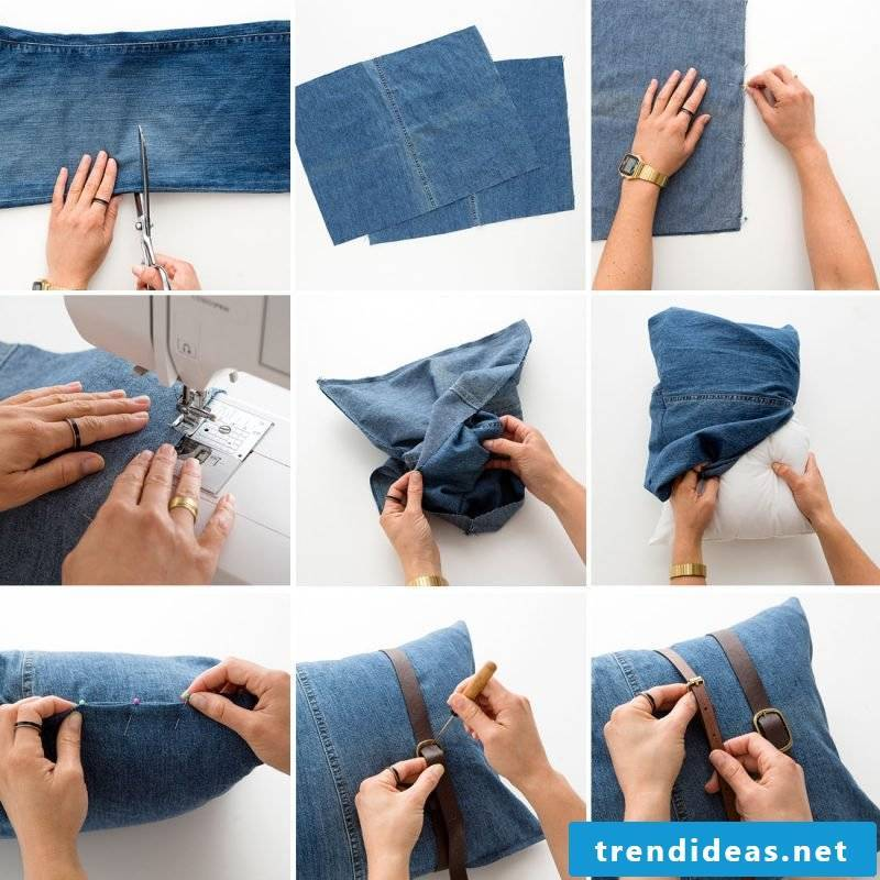 Sew gifts - make your own pillow