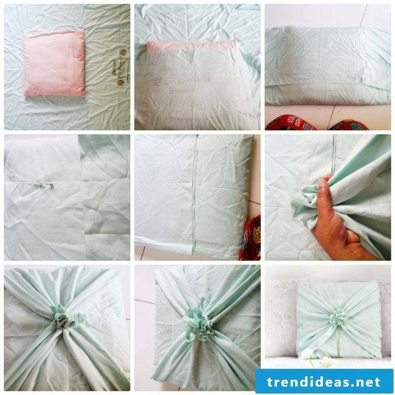 Sew the pillow yourself