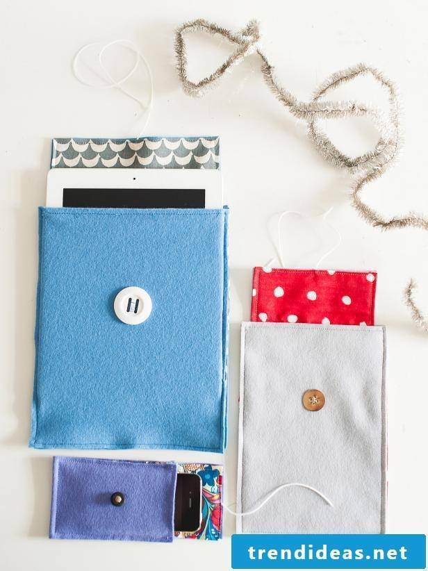 Make your own accessories: Sew mobile phone case