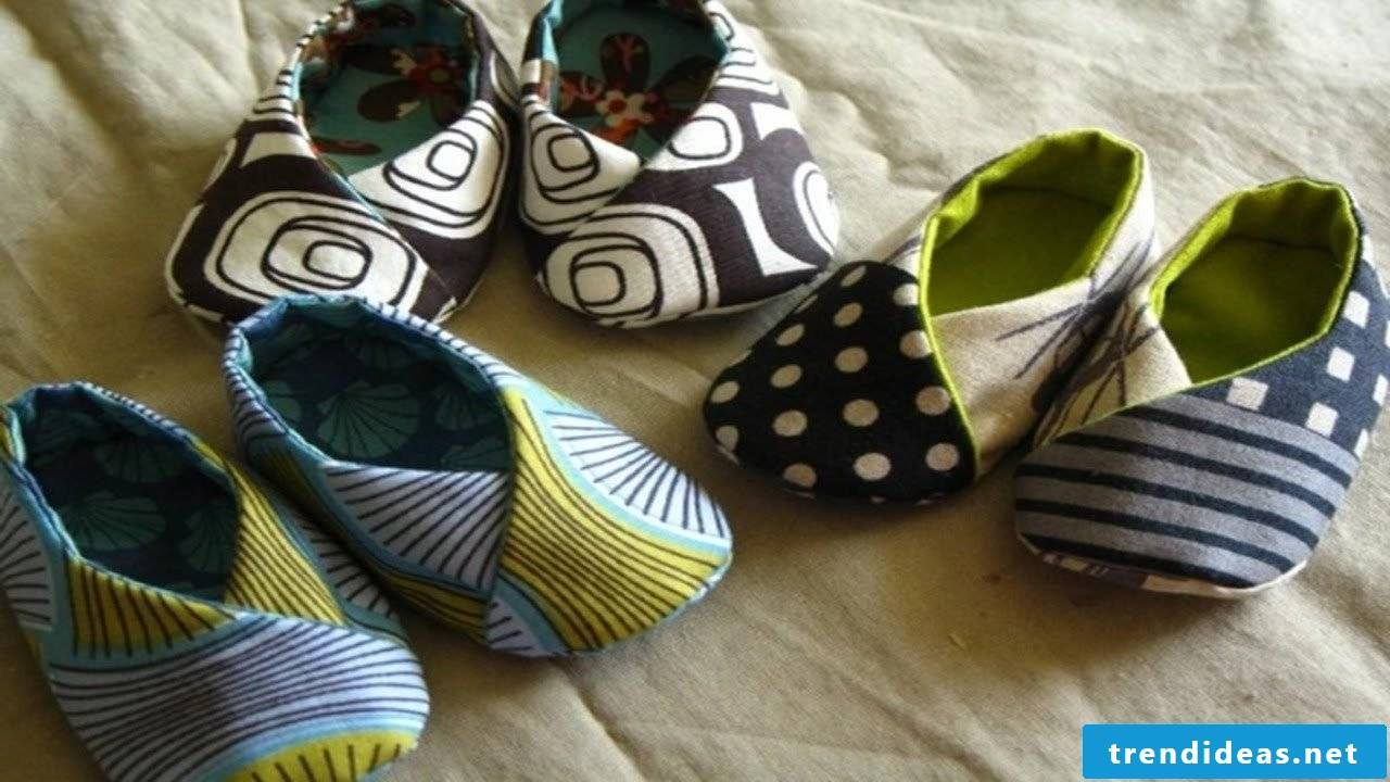 Sewing-cool slippers for kids and adults