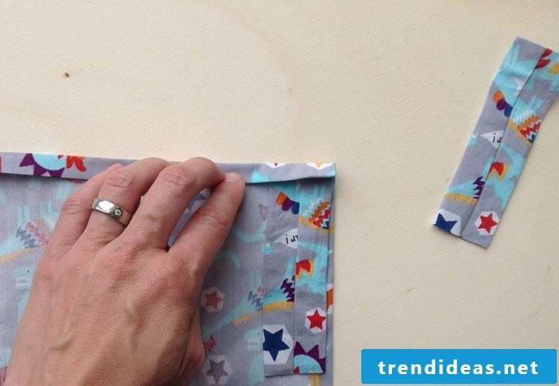 Curtain Sewing DIY Step 1