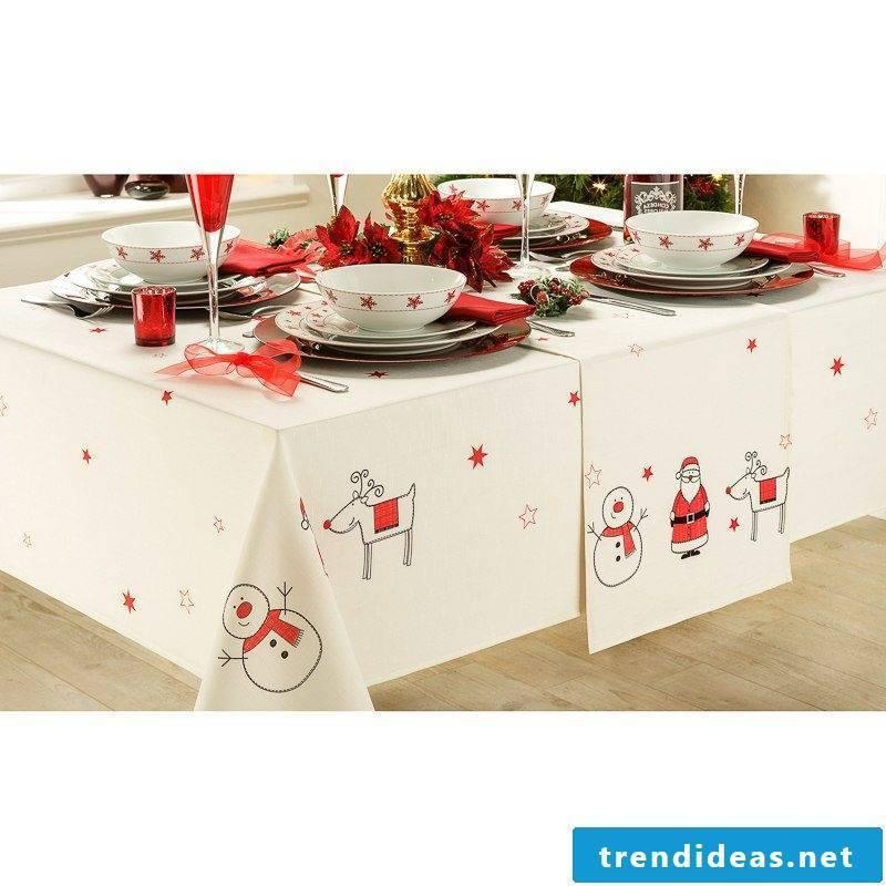 table runner-christmas-diy idea