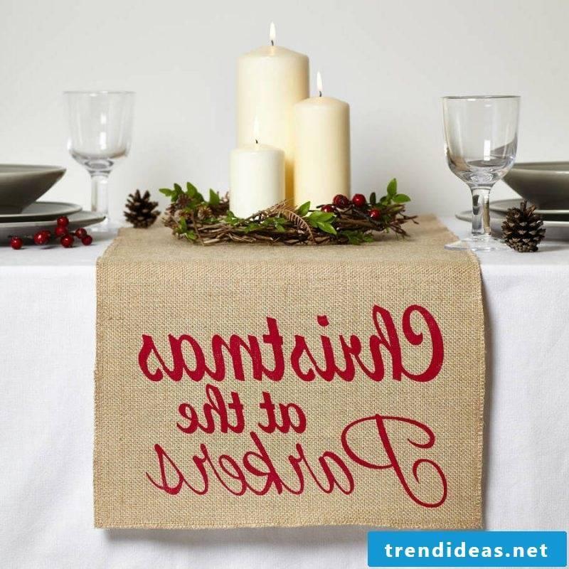table runner-christmas-ideas