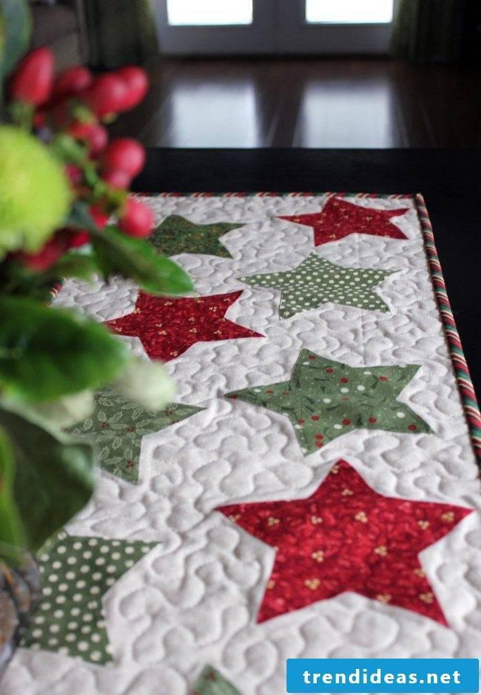 table runner-christmas