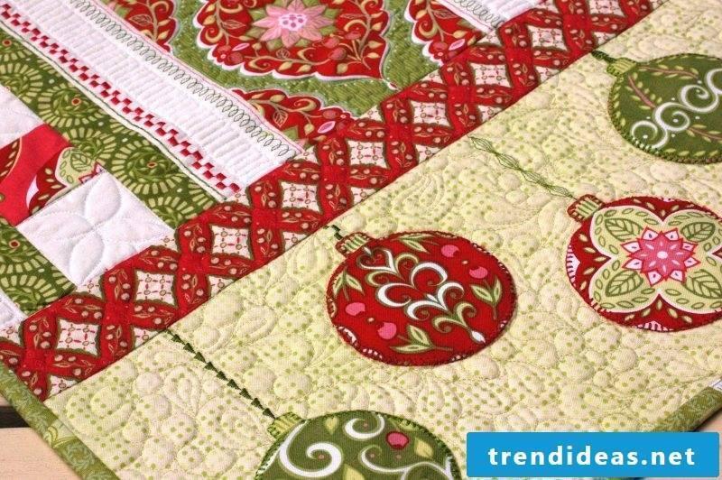 table runner-christmas-patchwork ideas