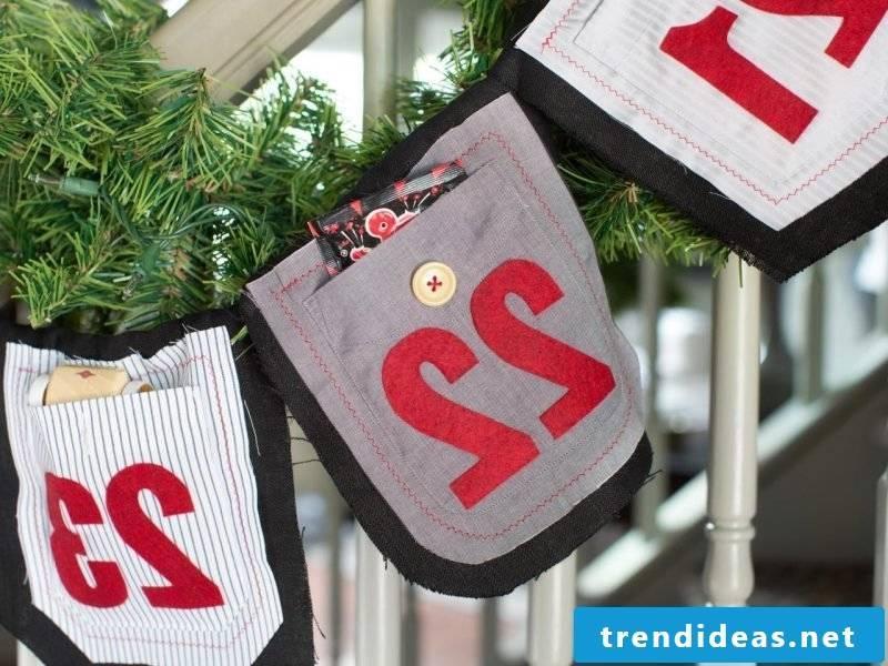 Advent calendars sew creative ideas