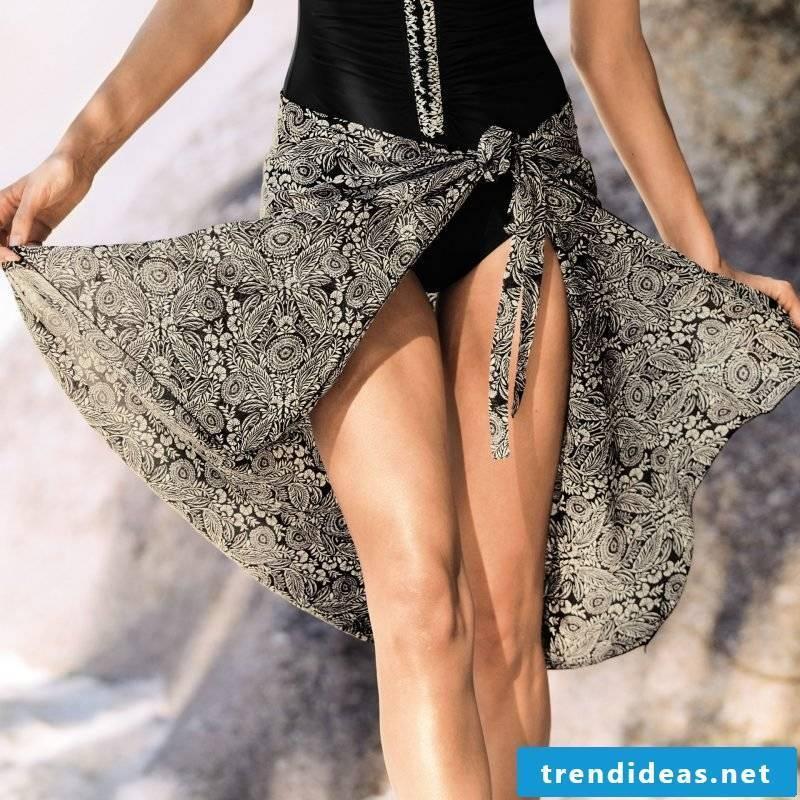 interesting wrap skirt