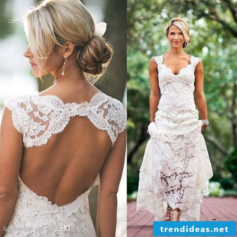 sexy wedding dress sexy backless lace