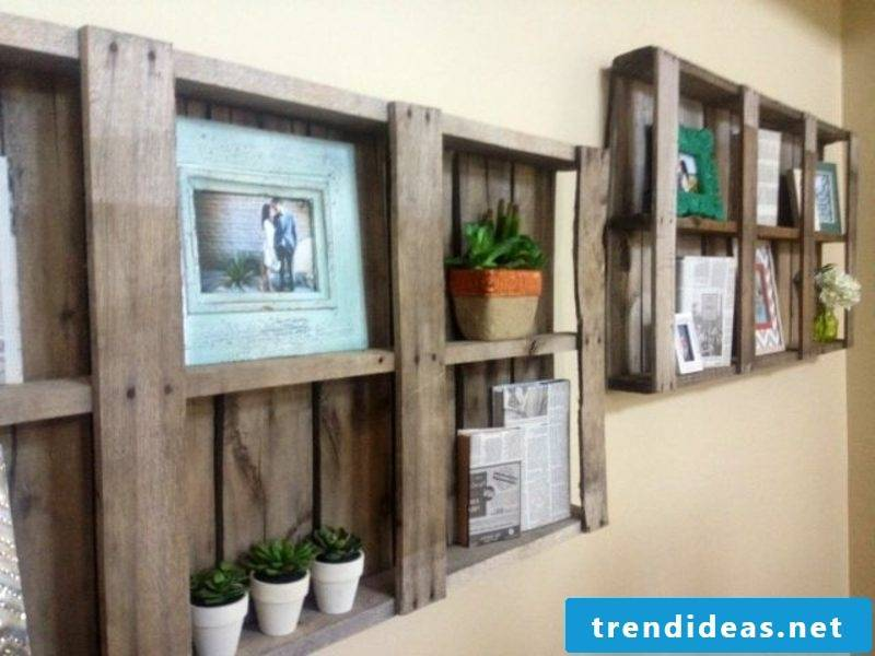 Building furniture from pallets: trendy designers show their best