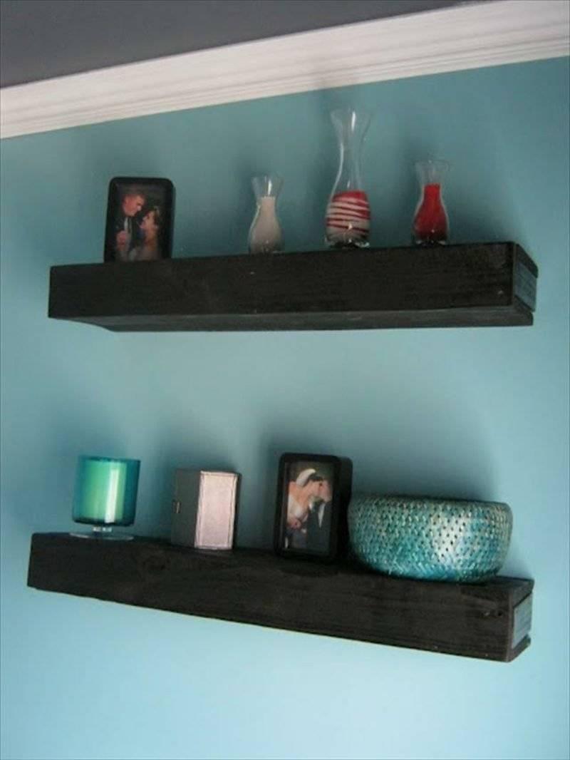 kitchen shelf made of europallets