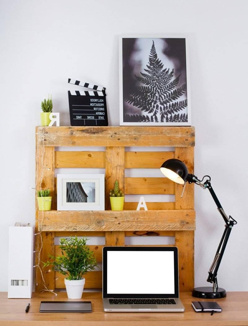 wall shelf from pallets build yourself europalette shelf instruction
