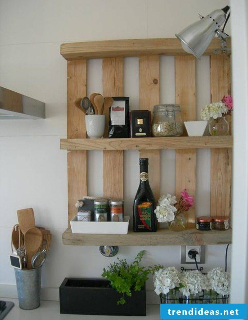 Build furniture from pallets
