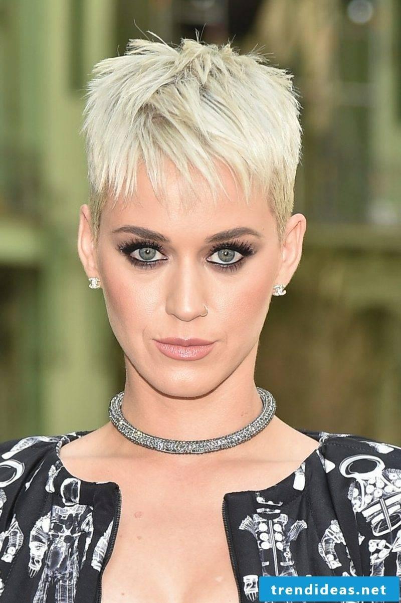 Short Hairstyles Women 2017 Pixie Cut Katy Perry