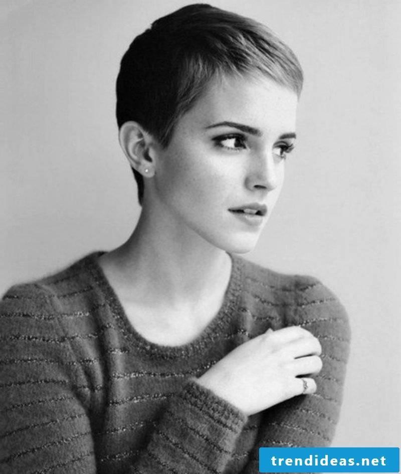Short Hairstyles Women 2017 Pixie Cut Emma Watson