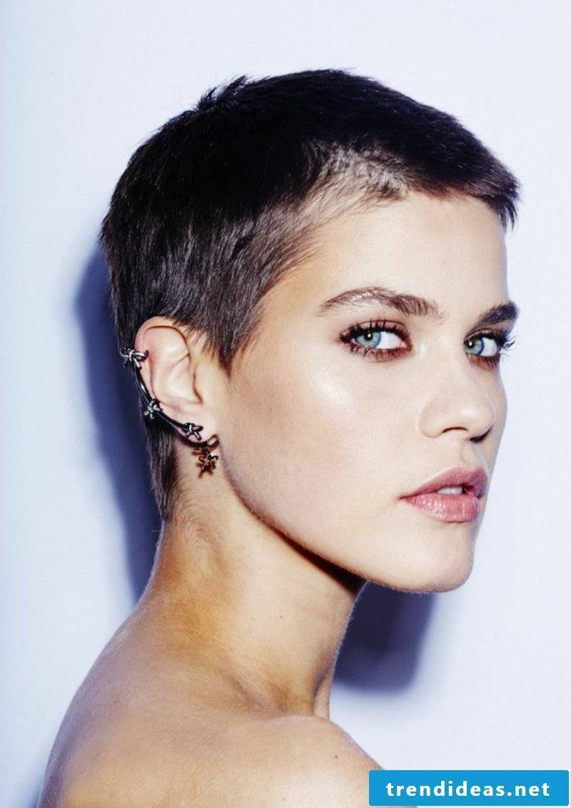 Short Hairstyles Women 2017 Buzz Cut