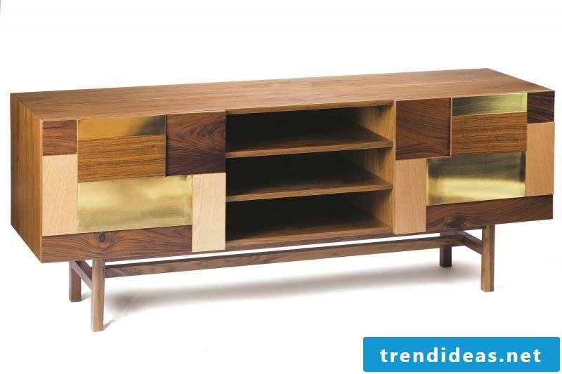 Build sideboard yourself from old furniture