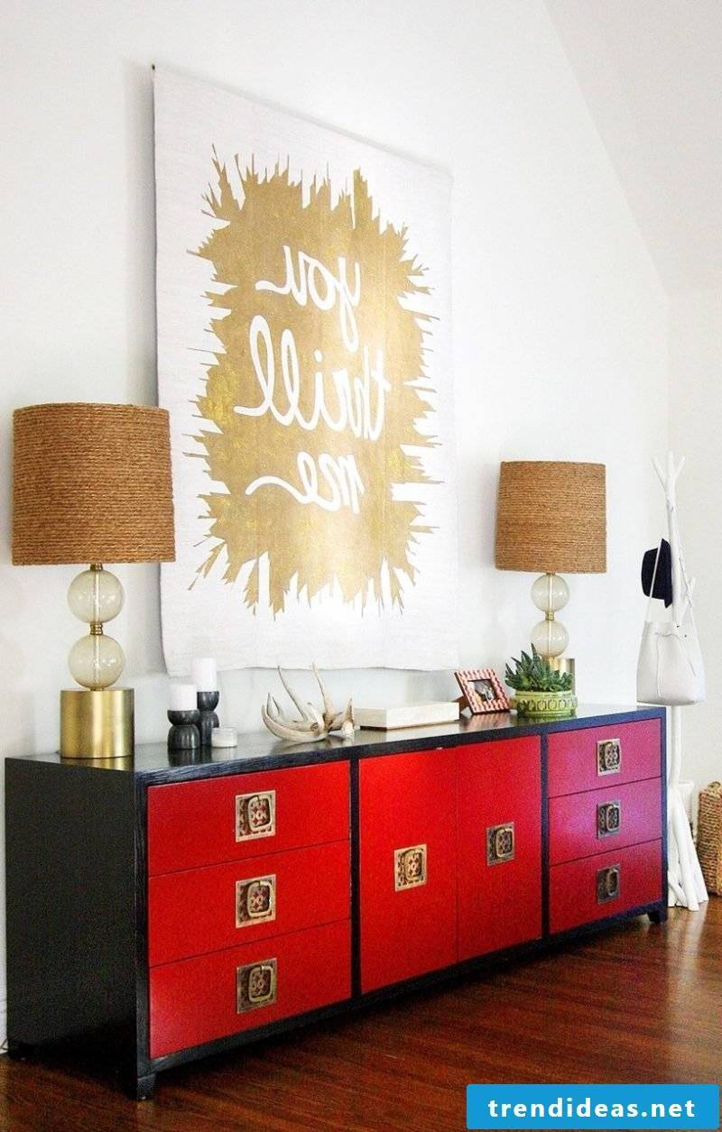Build a rustic sideboard yourself