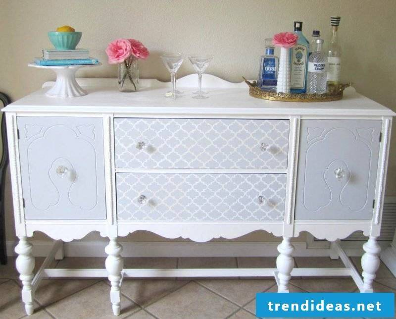 Sideboard build yourself in country style
