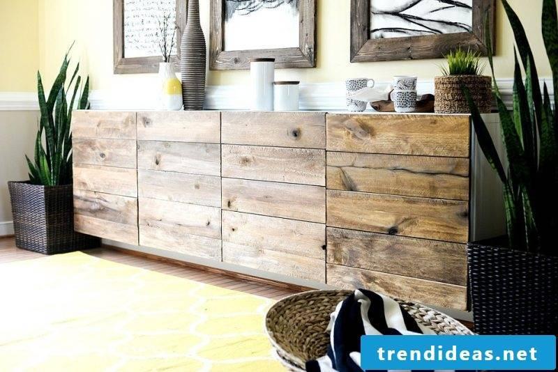 Build sideboard yourself