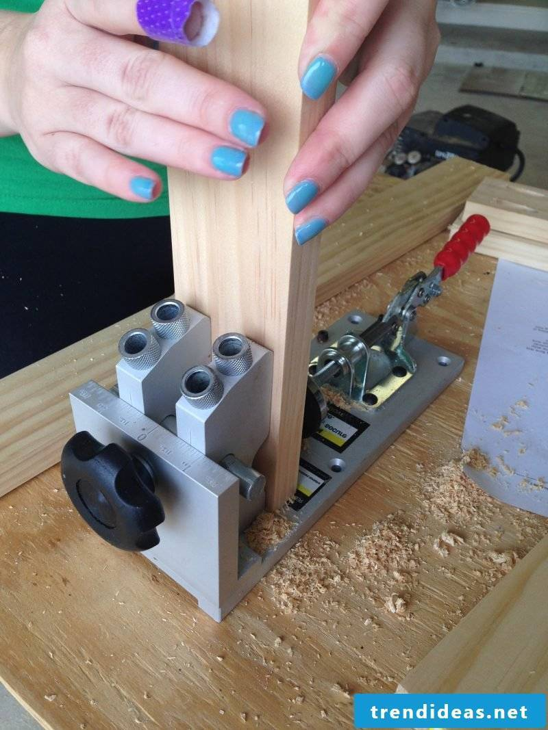 Sideboard build yourself: Instructions Step 1