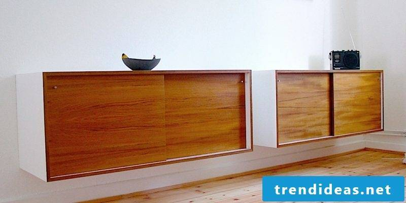 Sideboard hanging wood original look