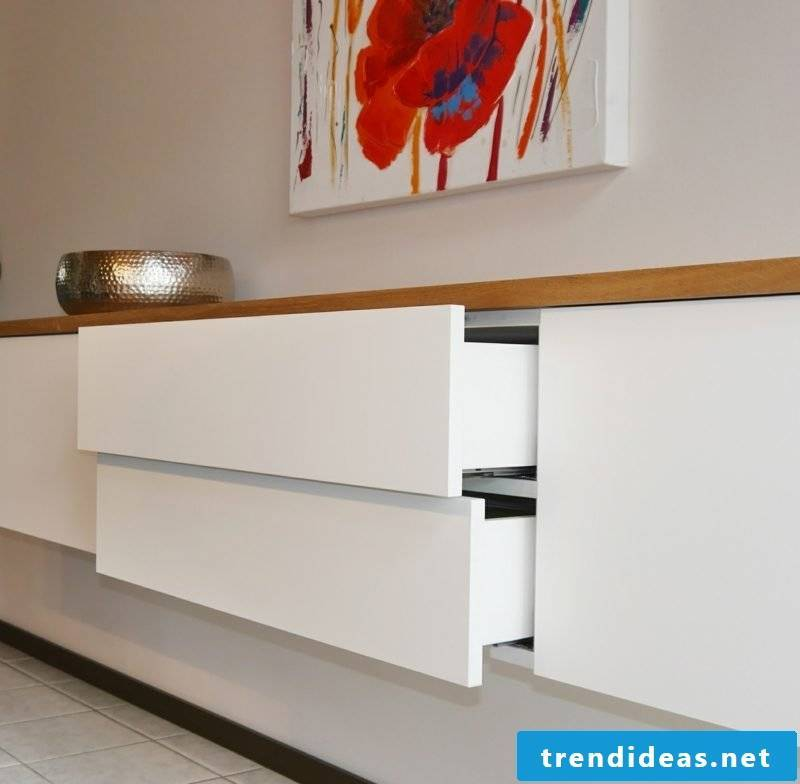 Sideboard hanging modern drawers