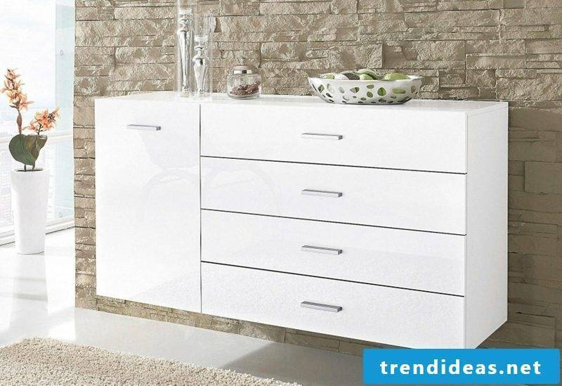 Sideboard hanging large many drawers