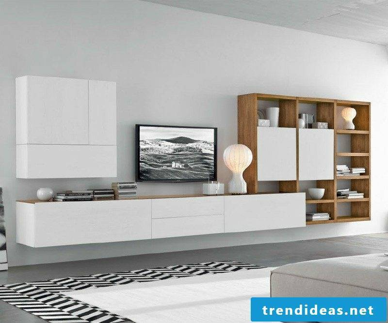 Sideboard hanging wide and modern