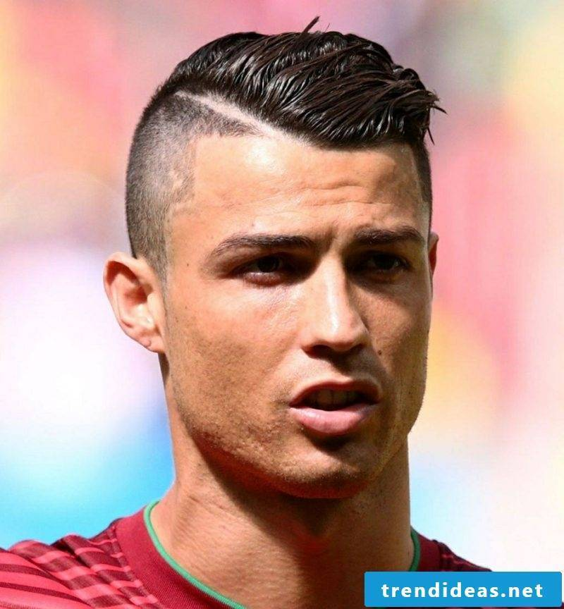 Rockabilly hairstyles men sidecut