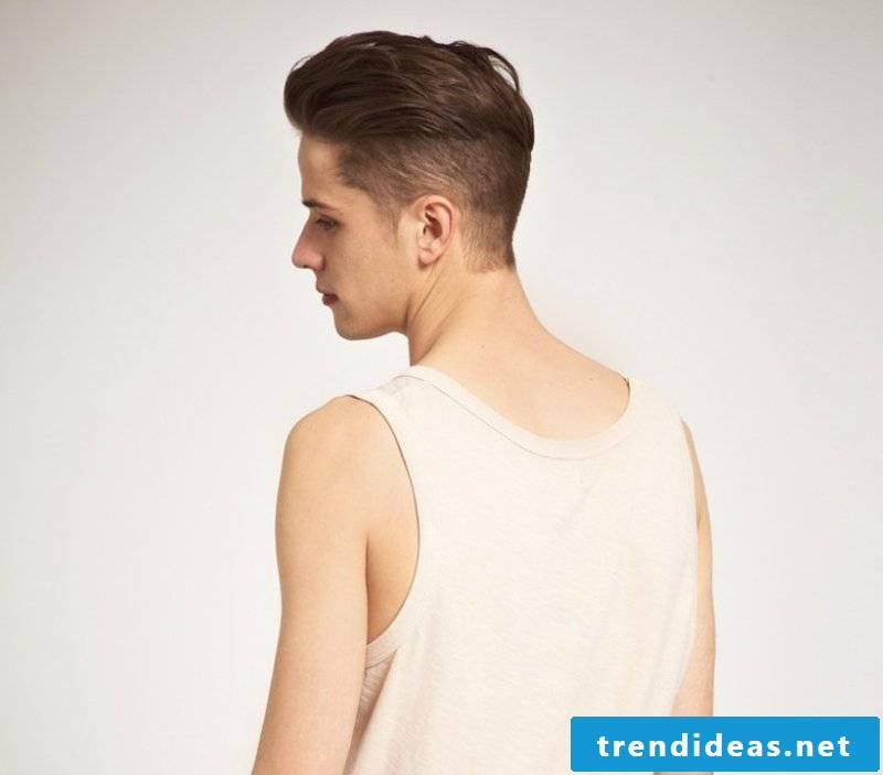 Sidecut men David Beckham hairstyle