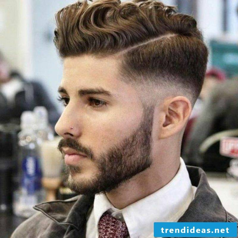 Short hairstyles asymmetrical with undercut