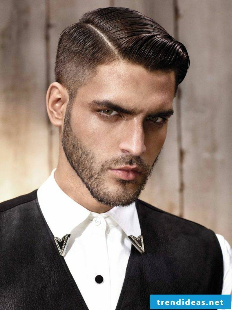 Short Hairstyles Undercut Sidecut Men