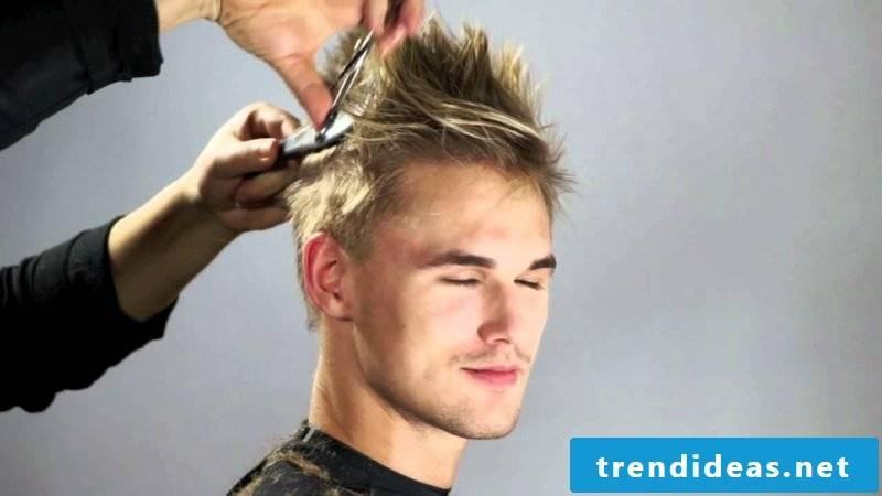 Sidecut men trendy hairstyles