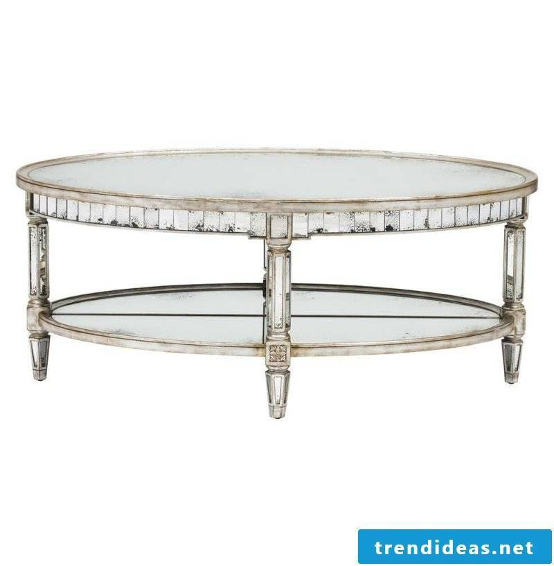 A nice silver table.