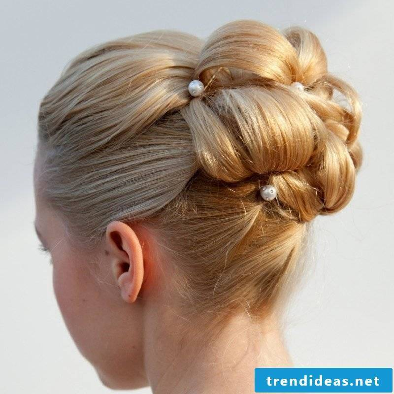 Bridal hairstyles long hair updos with curls