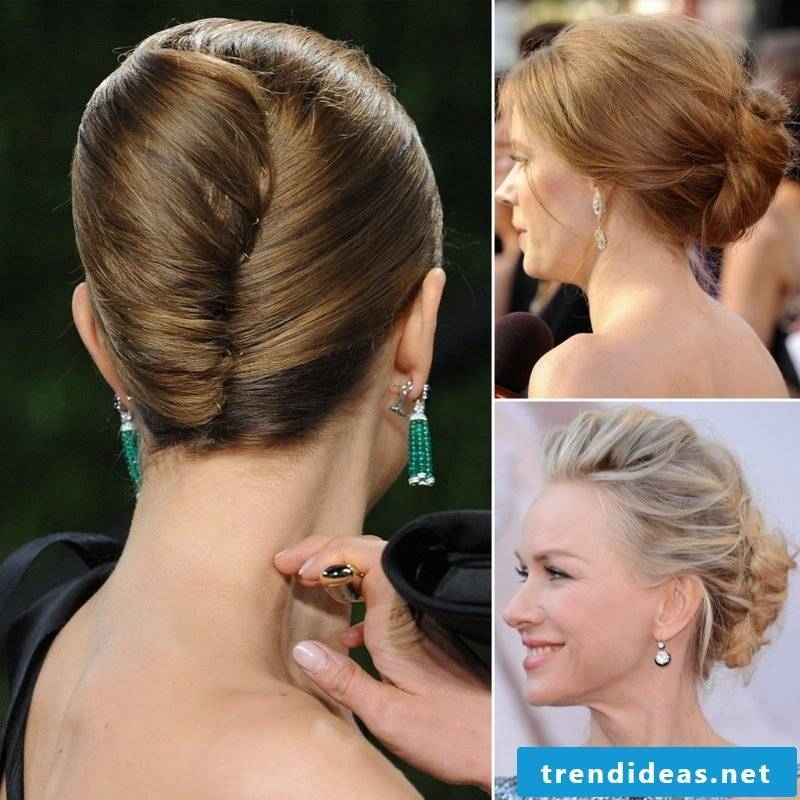 Updos Instructions Banana French Twist